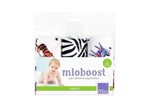 Bambino Mio MIOBOOST nappy boosters 3 pack savanna stripes