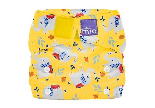 Bambino Mio MIOSOLO all-in-one reusable nappy elephant stomp