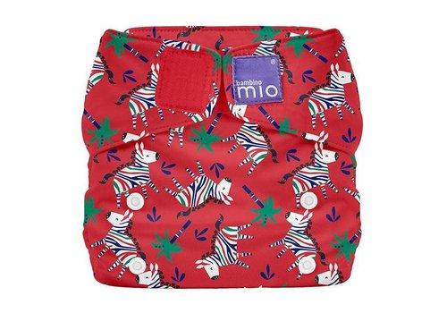 Bambino Mio MIOSOLO all-in-one reusable nappy zebra dazzle