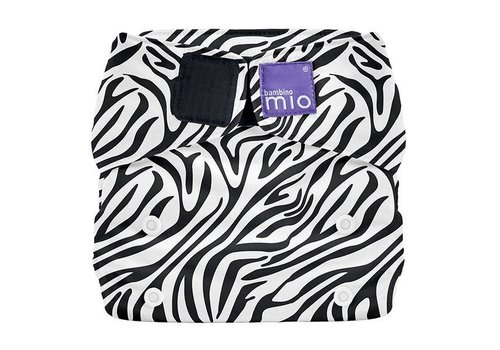 Bambino Mio MIOSOLO all-in-one reusable nappy savanna stripes