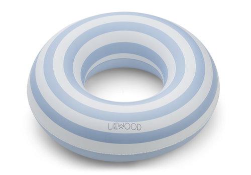 Liewood Baloo zwemband 1-5j Stripe sea blue/creme de la creme
