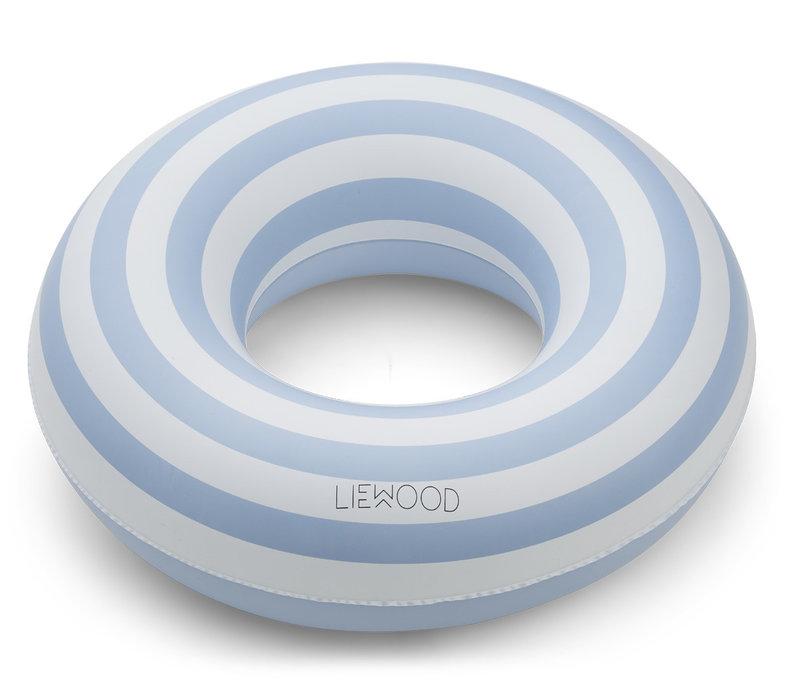 Baloo swim ring Stripe sea blue/creme de la creme 1-5y