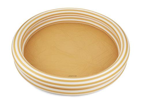 Liewood Savannah zwembad 150cm Stripe yellow mellow/creme de la creme
