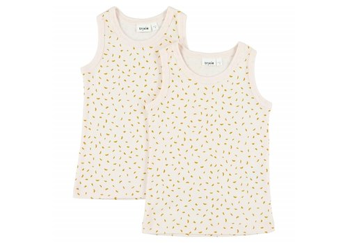 Trixie Baby Singlets 2-pack Moonstone
