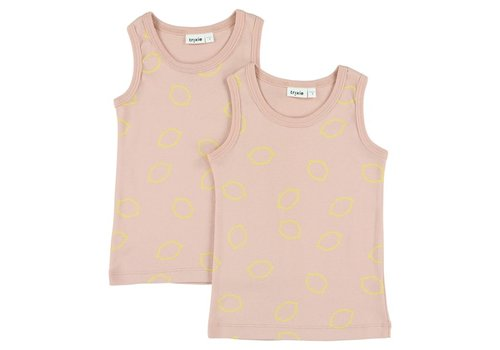 Trixie Singlets 2-pack Lemon Squash