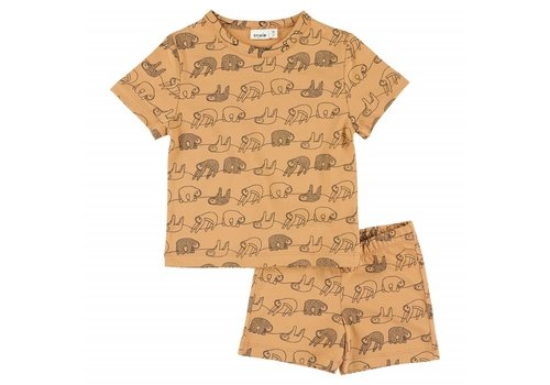 Trixie Baby Pyjama 2 pieces short Silly Sloth