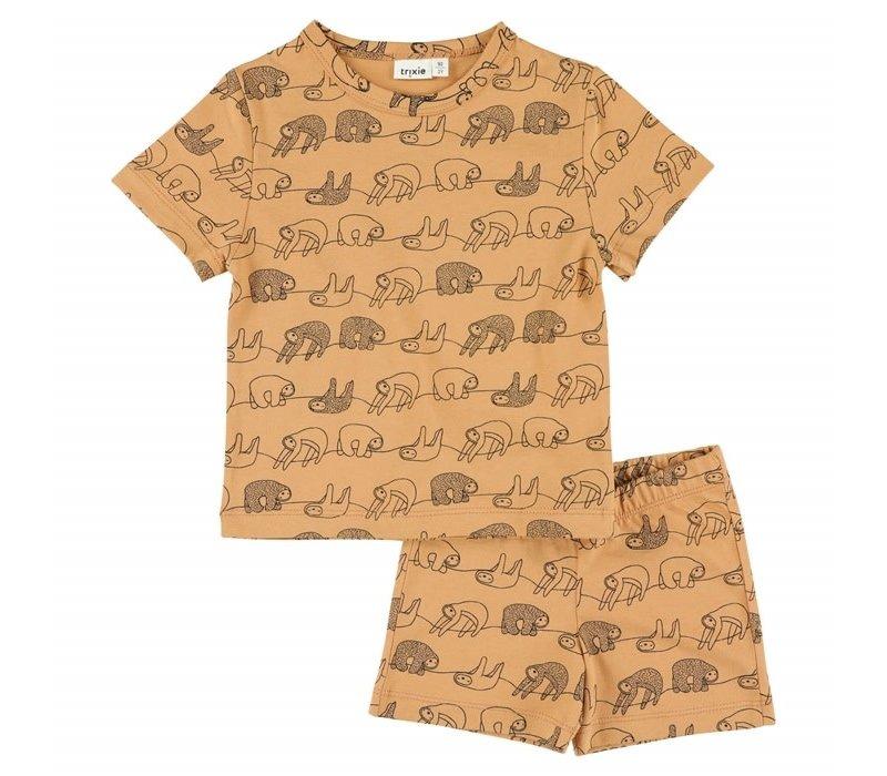 Pyjama 2 pieces short Silly Sloth