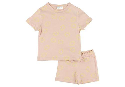 Trixie Pyjama 2 pieces short Lemon Squash