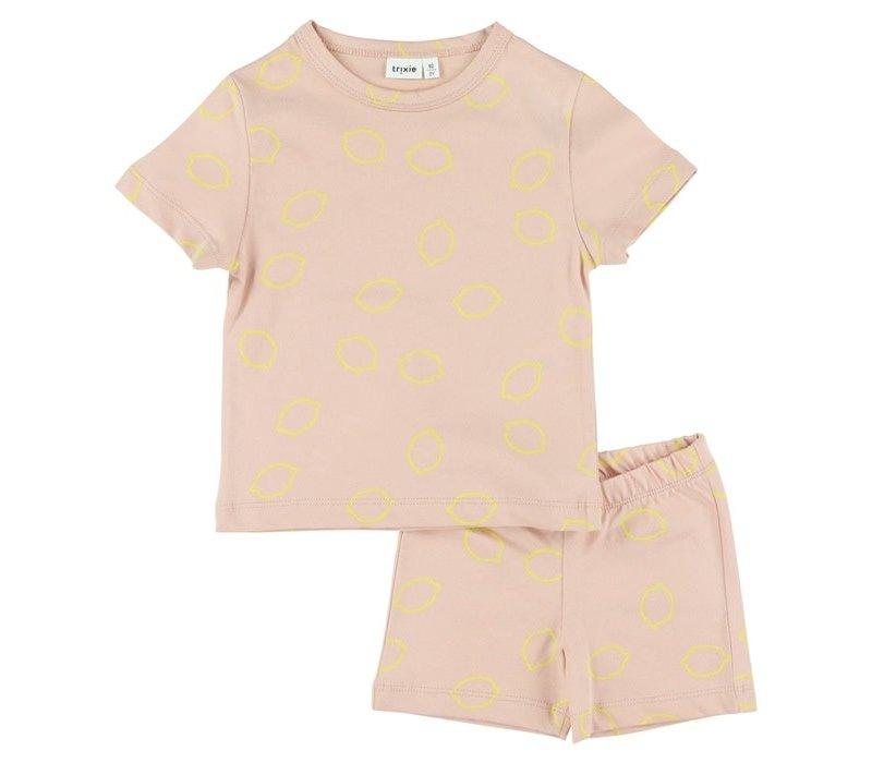 Pyjama 2 pieces short Lemon Squash