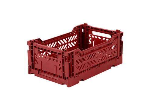 Aykasa Foldable crate mini tile red
