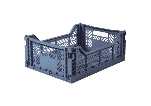 Aykasa Foldable crate midi cobalt blue