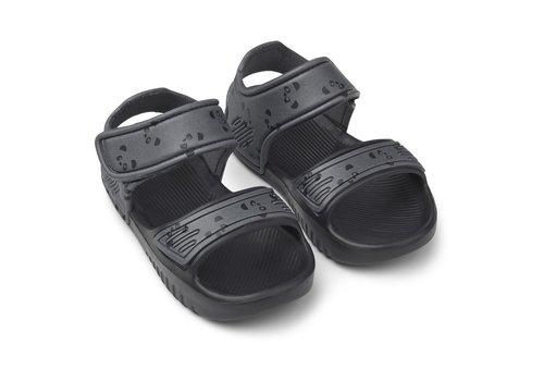 Liewood Blumer sandals Panda stone grey
