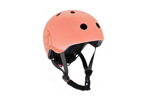 Scoot and Ride Kids Helmet S - Peach (51-55cm)