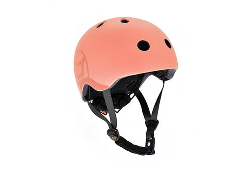 Scoot and Ride Kinderhelm S - Peach (51-55cm)