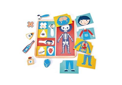 Tender Leaf Toys Puzzel lichaam