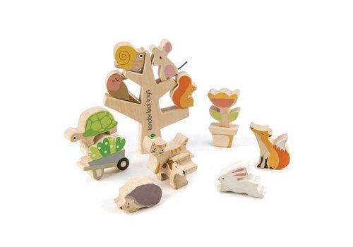 Tender Leaf Toys Stapelboom met dieren