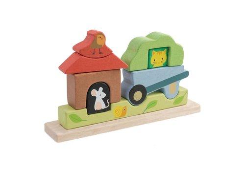 Tender Leaf Toys Magnetische puzzel tuin