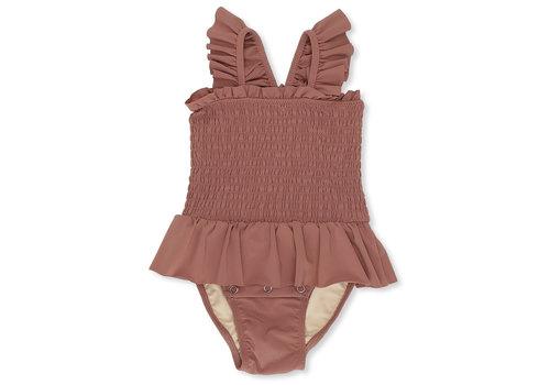 Konges Sløjd Girl UV swimsuit baby Ruben rose