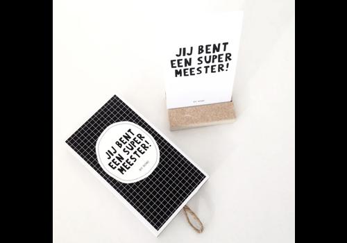 By Romi Wensdoosje / Jij bent een super meester