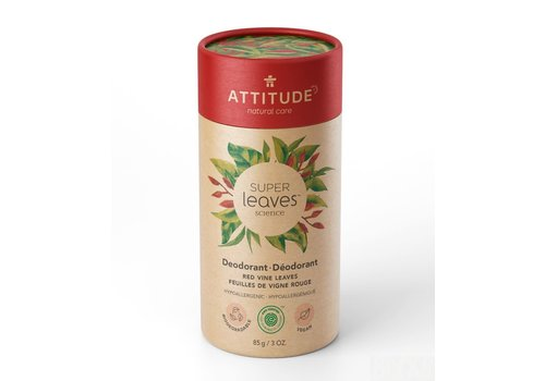 Attitude Super Leaves Deodorant Red Vine Leaves