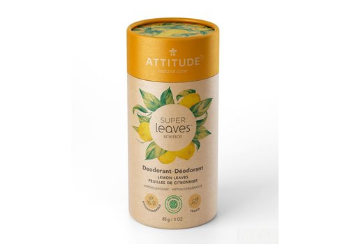 Attitude Super Leaves Deodorant Lemon Leaves