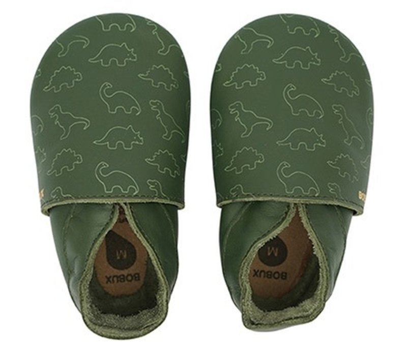 Soft Soles Dino olive