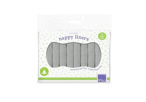 Bambino Mio Reusable nappy liners 8pcs
