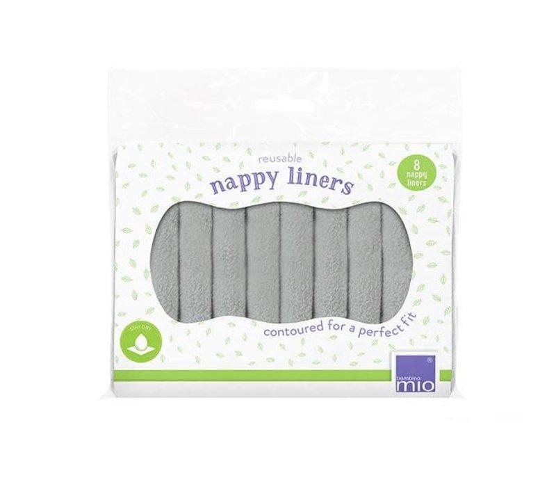 Reusable nappy liners 8pcs