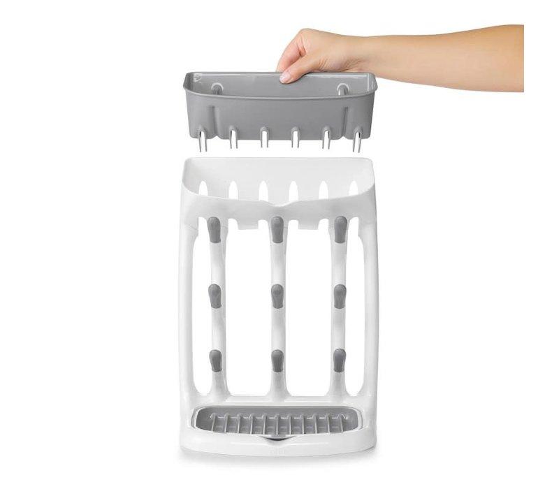 Bottle drying rack compact
