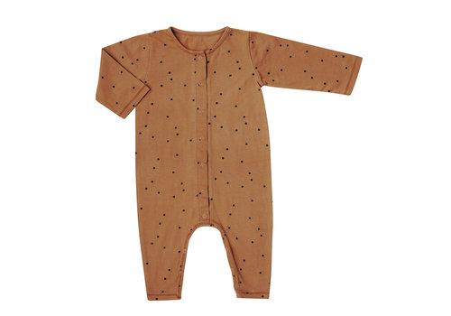Bonjour Little day+night jumpsuit crazy dots nut