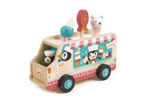 Tender Leaf Toys Penguin's gelato van