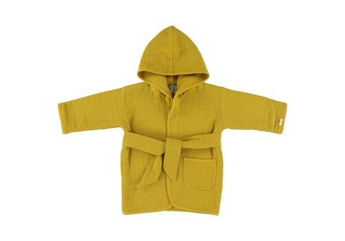Trixie Bathrobe Bliss mustard 1-2y