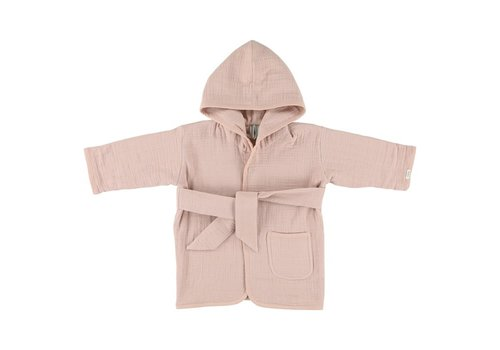 Trixie Bathrobe Bliss rose 1-2y