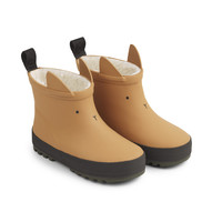 Jesse thermo rain boot Mustard/black mix