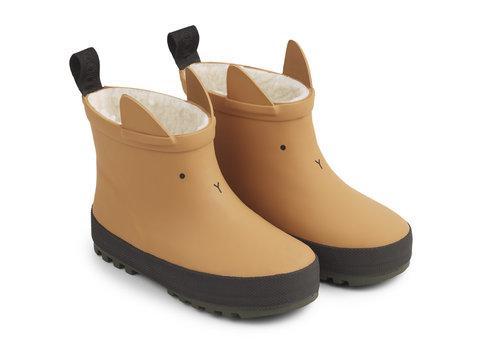 Liewood Jesse thermo rain boot Mustard/black mix