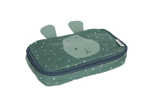 Trixie Pencil case rectangular - Mr. Hippo