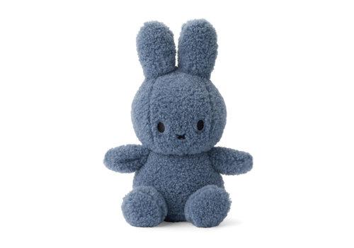Nijntje Miffy Sitting Teddy blue - 23cm