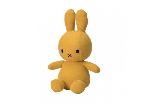 Nijntje Miffy Sitting Mousseline yellow - 23cm