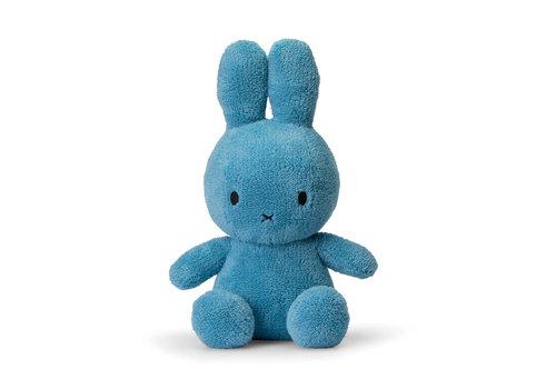 Nijntje Miffy Sitting Terry Ocean blue - 33cm