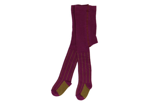 Heart of Gold tights KARLA cotton violet