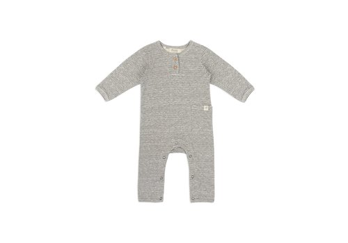 Dusq Baby suit double face jersey grey melange