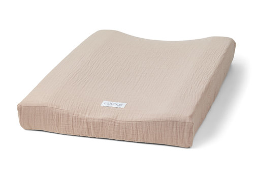Liewood Cliff muslin changing mat cover Rose