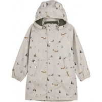 Blake long raincoat Arctic mix