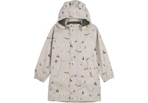 Liewood Blake long raincoat Arctic mix
