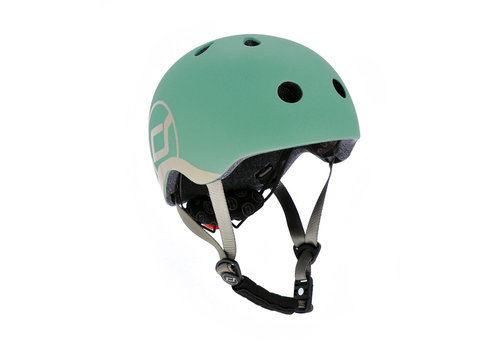 Scoot and Ride Baby Helmet XS - Forest (45–51cm)
