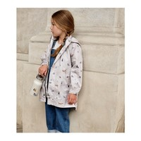 Spencer long raincoat Arctic mix