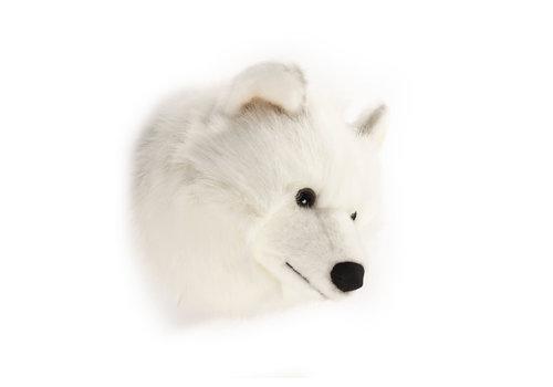 Wild & Soft Trophy white wolf Lucy