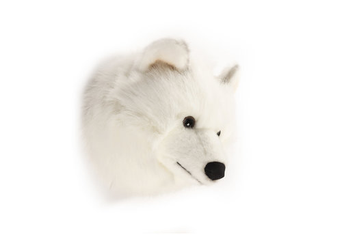 Wild & Soft Trophy witte wolf Lucy