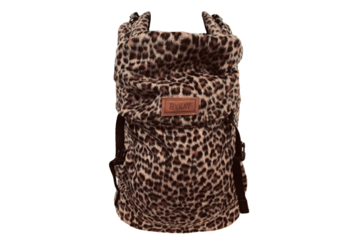 ByKay Click Carrier Classic - Furry leopard rust