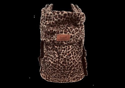 ByKay Draagzak Click Carrier Classic - Furry leopard rust